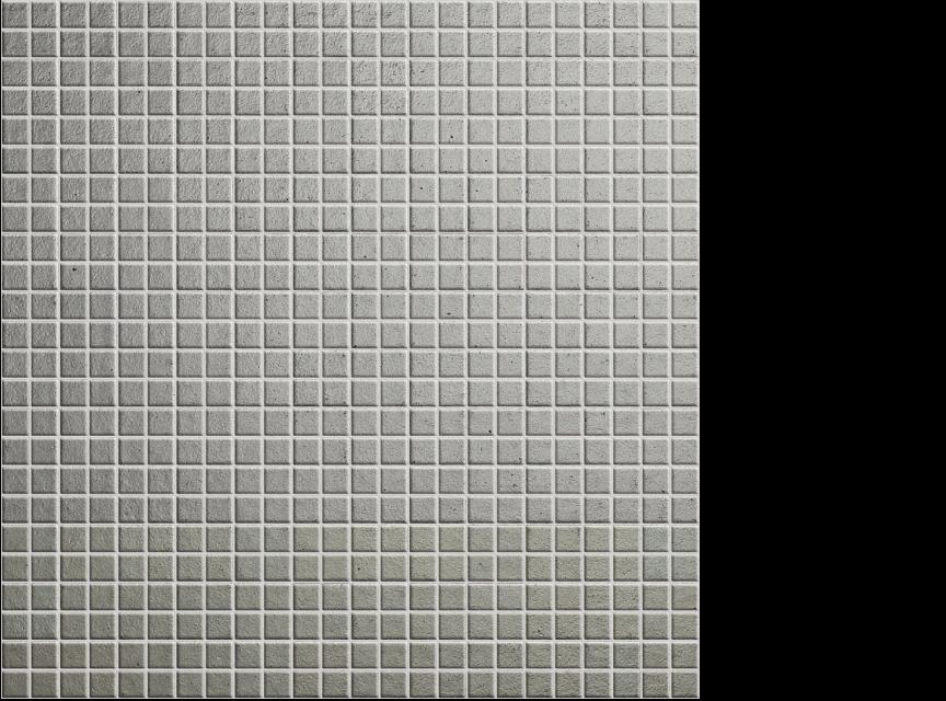 """appiani metallica alluminio 1/2"""" x 1/2"""" on 12"""" x 12"""" sheet - grey"""