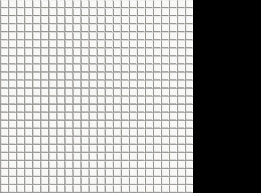 "Appiani Anthologia Calla White - 1/2"" x 1/2"" mosaic on 11.75"" x 11.75"" sheet"
