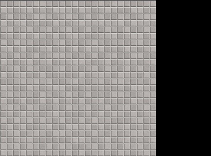 """Appiani Anthologia Cclematilde grey - 1/2"""" x 1/2"""" mosaic on 11.75"""" x 11.75"""" sheet"""