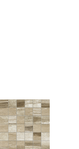 Drift, wood look tile. mosaic - Beige