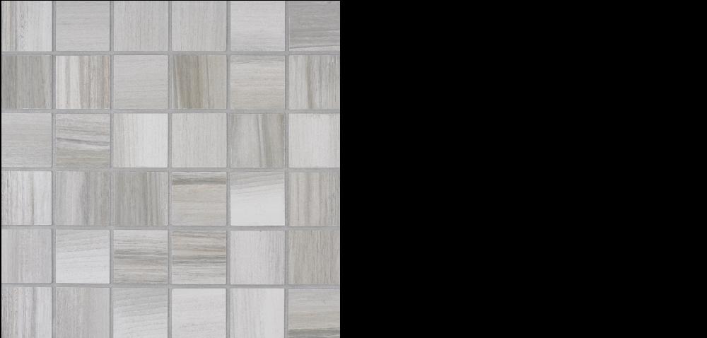 "africa porcelain 2"" x 2"" mosaic on 12"" x 12"" sheet white"