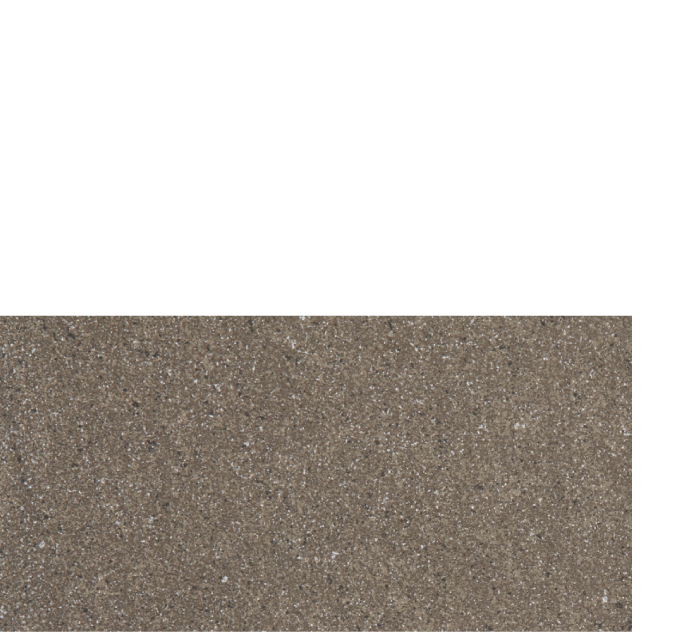 "Basaltina porcelain floor tile, 12"" x 24"" Mocha"