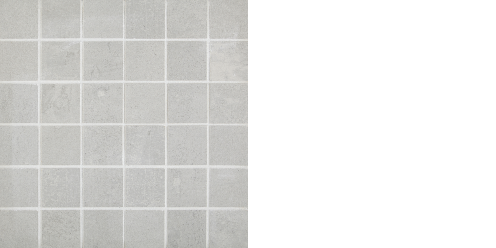 "Find porcelain tile, 2"" x 2"" mosaic pumice, Grey"