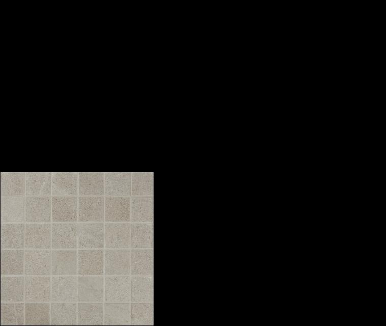 """pietra italia porcelain tile 2"""" x 2' mosaic gray"""