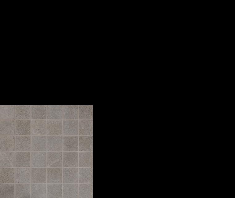 "Pietra italia porcelain tile 2"" x 2"" mosaic black"