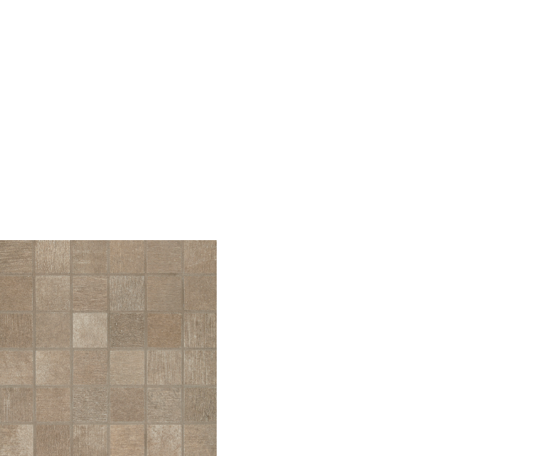 "reside, 2"" x 2"" mosaic porcelain tile brown"