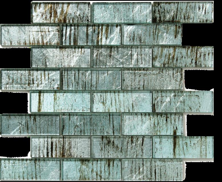 folia glass mosaic wisteria blue
