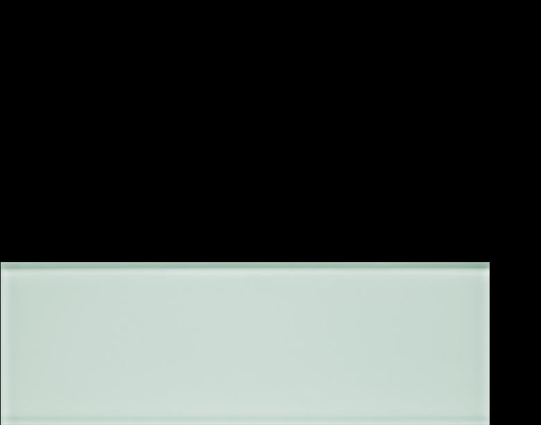 glass islandia naxos 4 x 12 gloss and matte, green