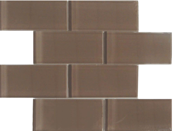 skylights glass mosaic taupe