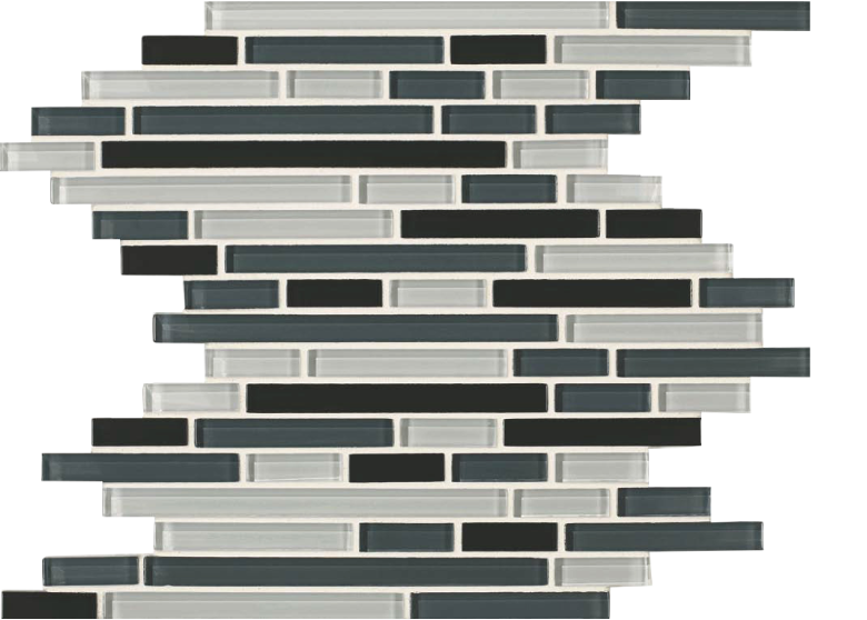 skylights glass mosaic grey stack