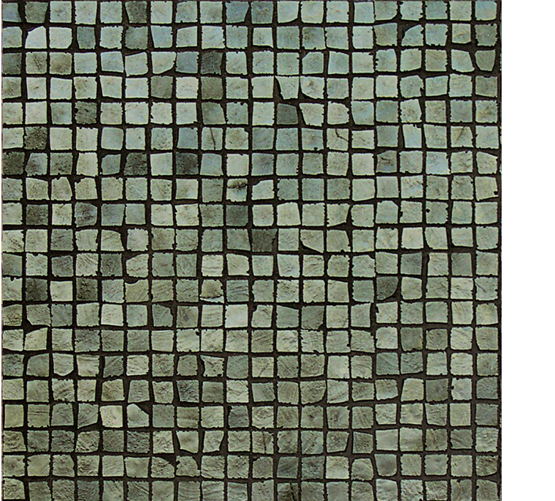 Vetro Glass Mosaic Metalli cromo green