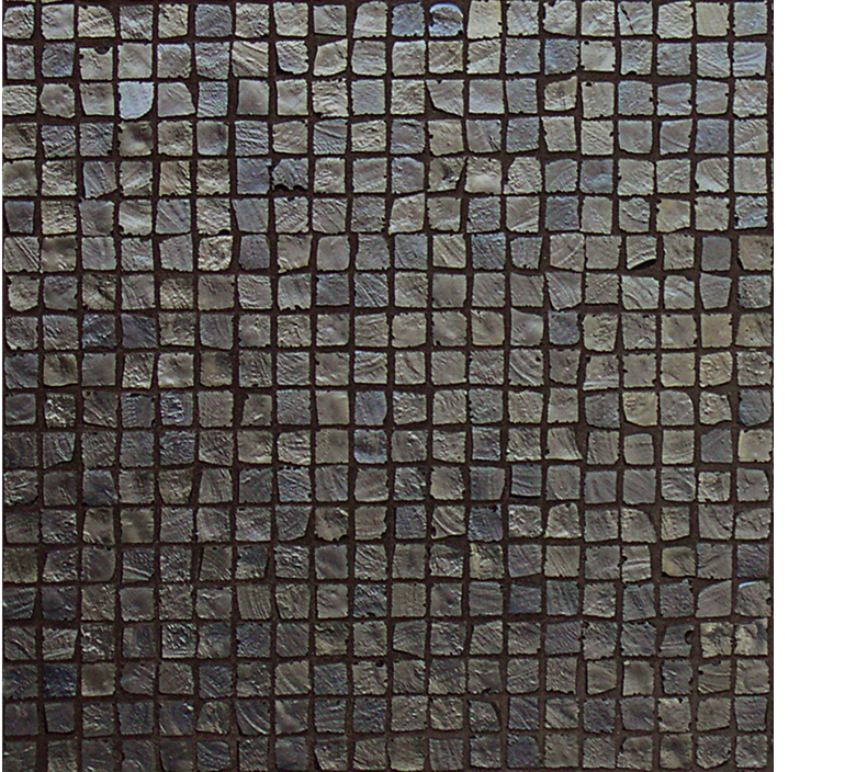 Vetro Glass Mosaic Metalli cobalto brown, dark