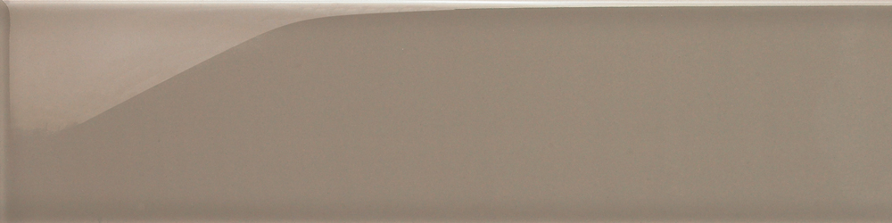 H Line nautilus, ceramic wall tile brown