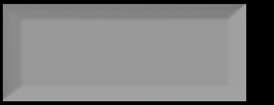 "RC Classic subway, wall ceramic tile, 4"" x 10"" bevel tender grey"
