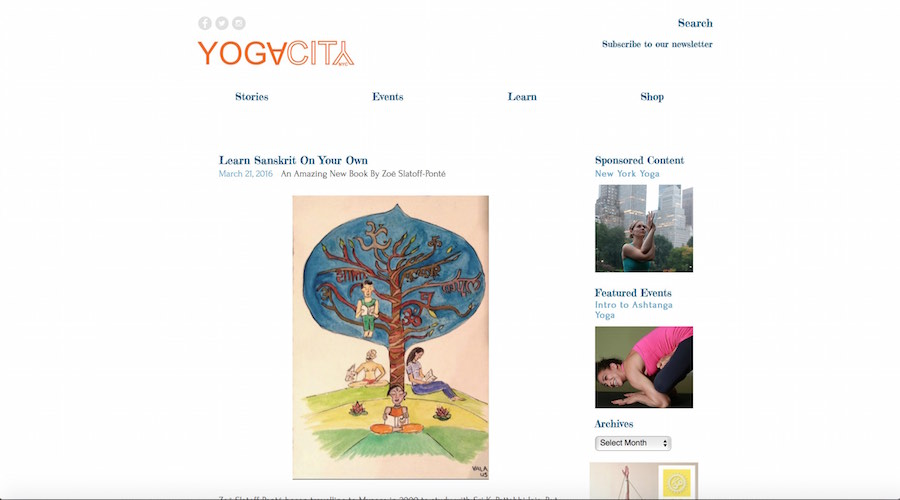 Interview in Yoga City NYC
