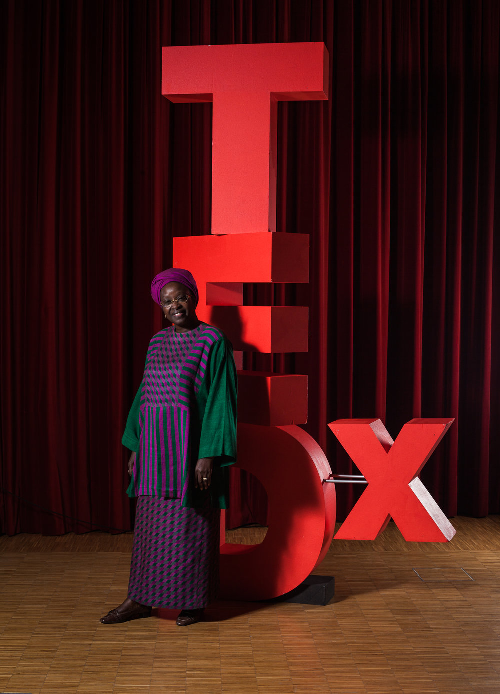 TEDxMartigny is one of the best initiative to share and discover new ideas. Today, Martigny is the center of the world.  - Bineta Diop -