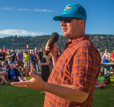 Gregg Gnecco:  Announcer, Race Director | White Salmon, WA