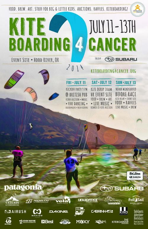2019 KB4C Poster Design Contest — Kiteboard 4 Cancer