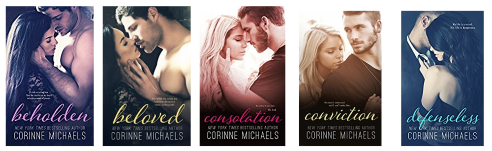 corinne micheals cover branding