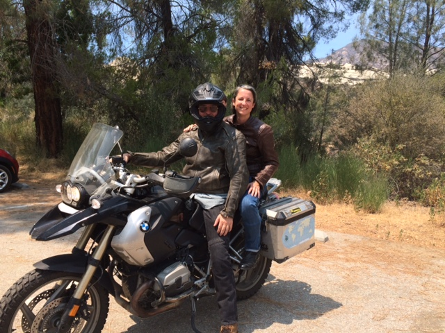With Ruben at the wheel in Ojai, CA (Photo credit: Jay Fields)