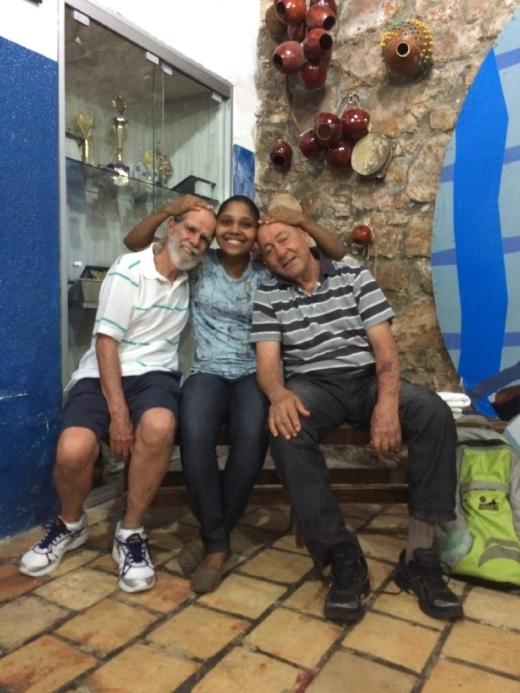 Mestre Cafuné, Flor and Mestre Boinha. Fundação Mestre Bimba |Salvador, Bahia | September 2015
