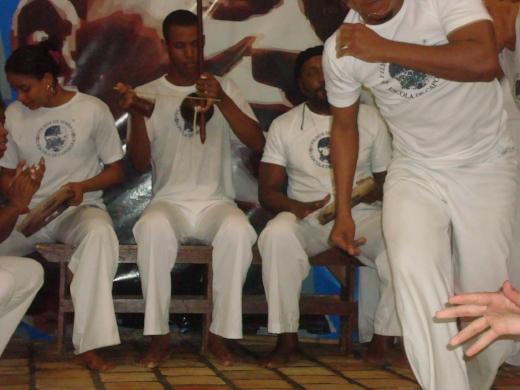 Mestra Preguiça, Professor Dentinho e Mestre Nenel | Roda in Fundaãco Mestre Bimba | 2010