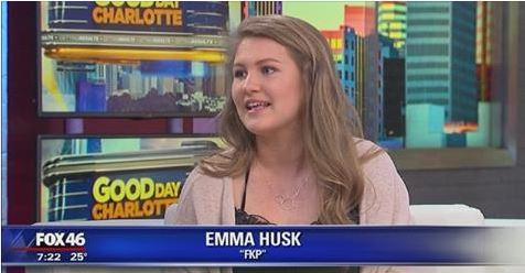 Me on live TV!