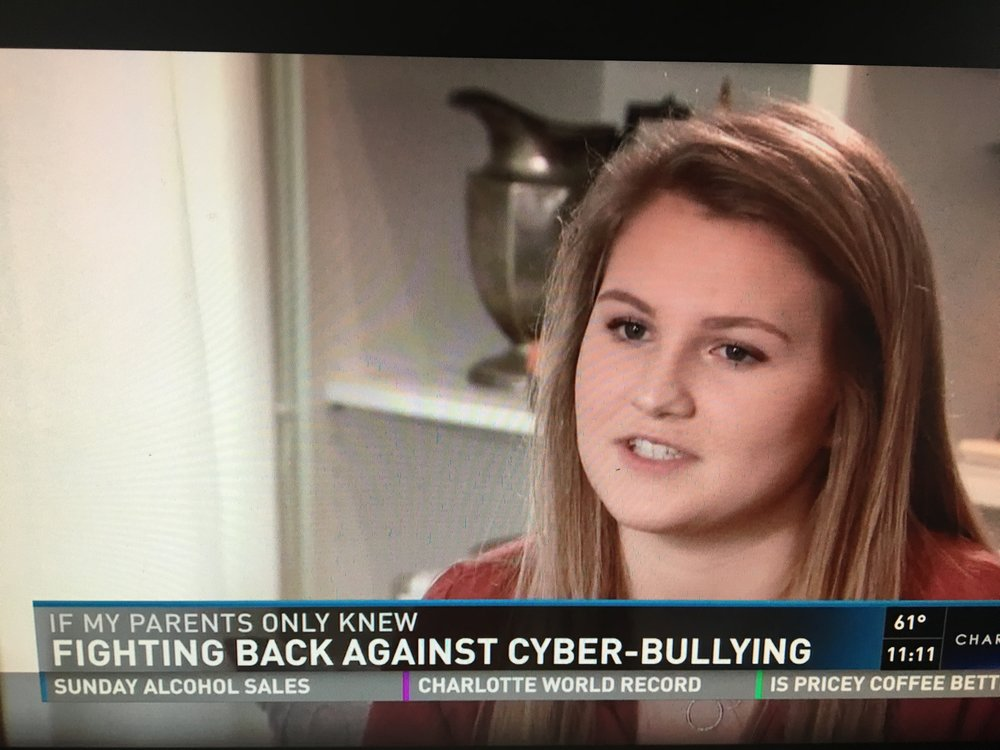 WCNC – Cyber Bullying in America