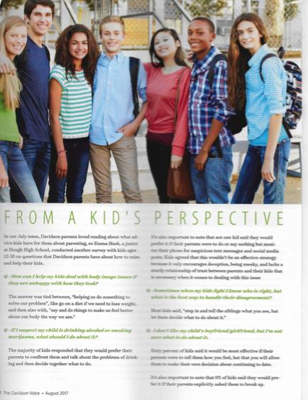 Kids answer parents questions part 3