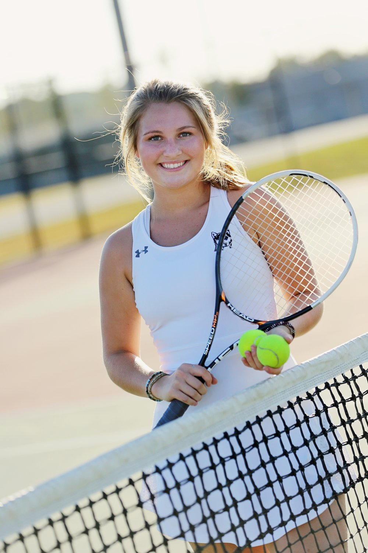 Me on my High School Tennis team.