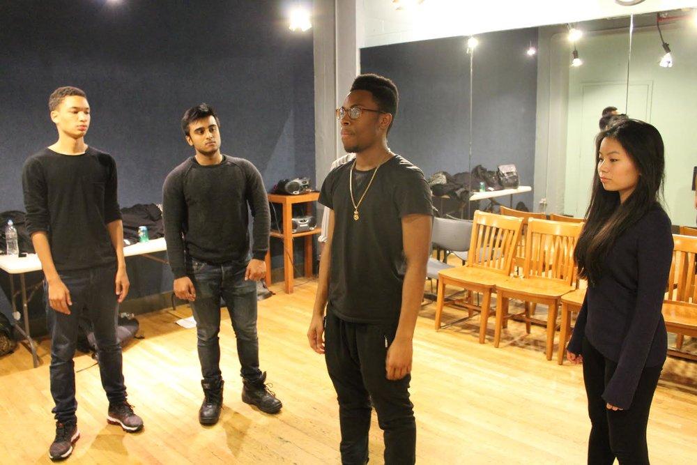 E.A.T.T.'s Cast In Rehearsal