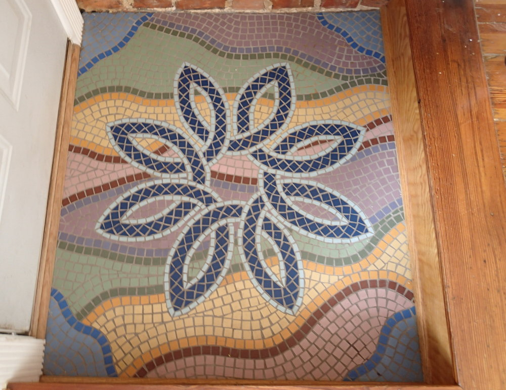 my mosaic entryway