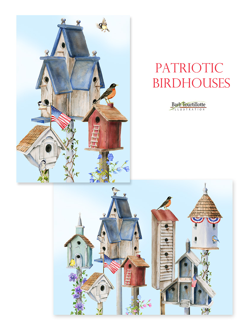 Patriotic birdhouses copy.jpg