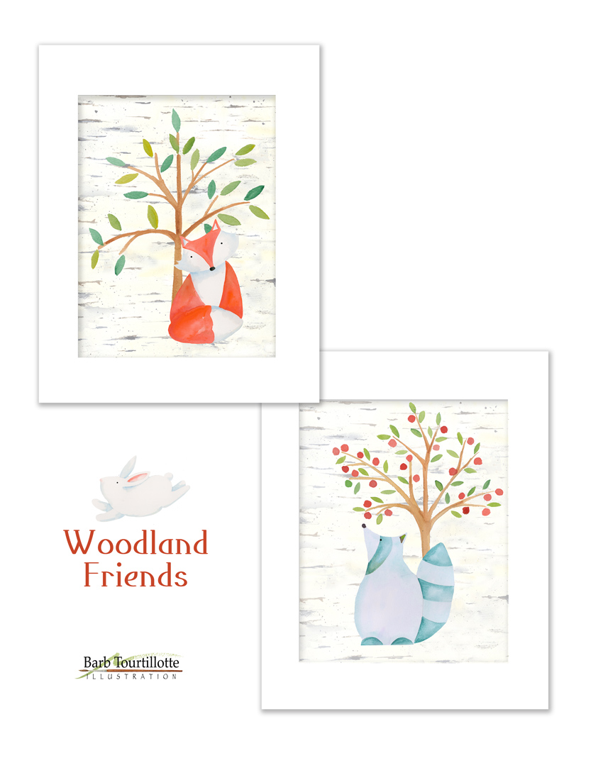 Woodland Friends framed jpg.jpg