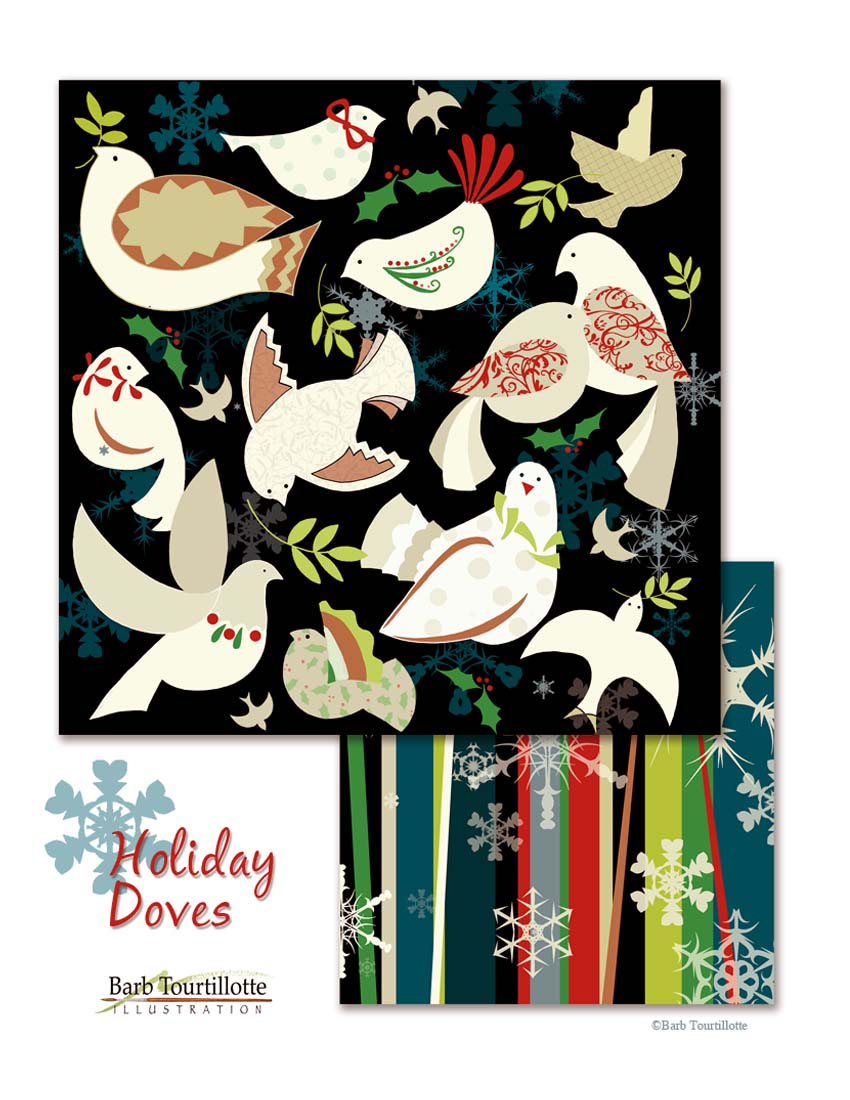 Holiday Doves in black .jpg