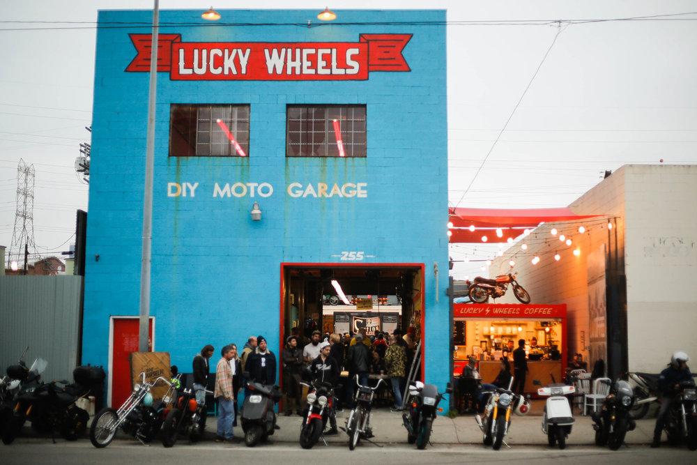 Sierra Stake Out Meetup Spot Lucky Wheels Garage