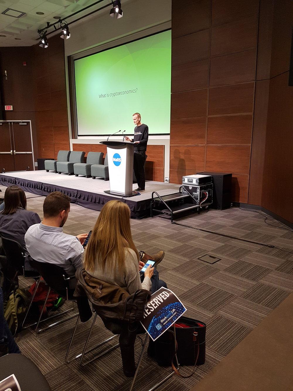 Vitalik's Keynote Presentation