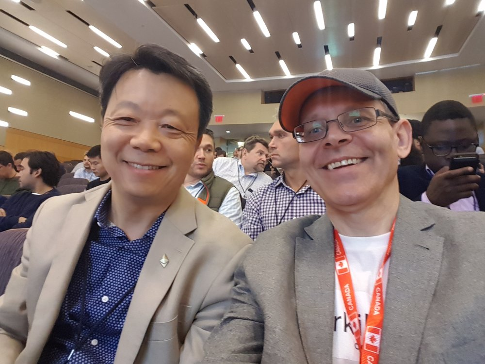 Connected with a dear friend Victor Li, a self-described crypto junkie with a serious analytical side.