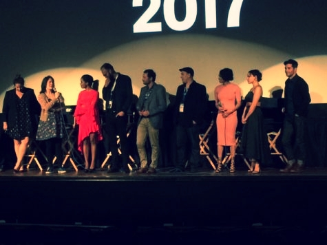 Rachael w/ cast and crew of  I Love Bekka & Lucy  at SXSW world premiere.
