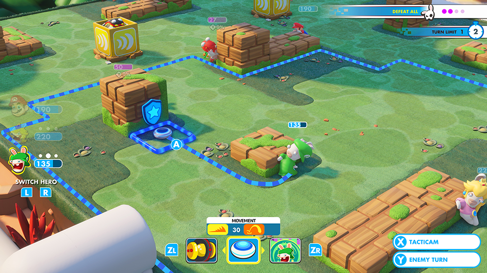 Images provided by Ubisoft, Mario + Rabbids: Kingdom Battle