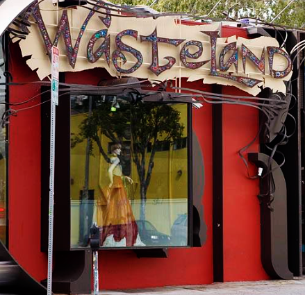 Wasteland  is my all time favorite place to find designer or mid priced lines for a fraction of the retail price. I frequent the one on Melrose ave, but there are a few locations throughout the LA area and beyond. Check in regularly, as designers send samples and excess pieces here often. I have scored some gorgeous pieces that still have the tags on for at least 70% off.