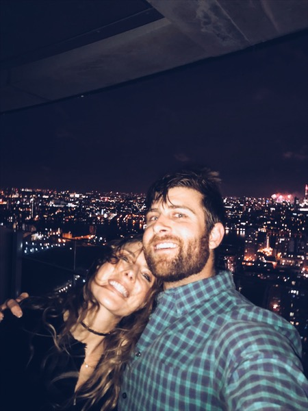 Chay and I in London during New Years!