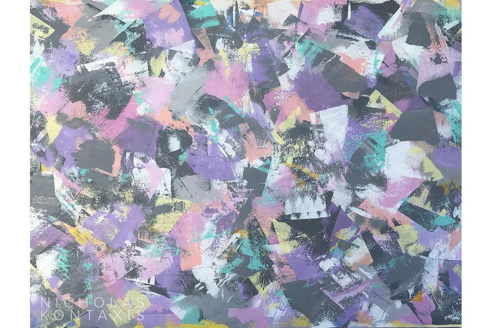 Zoo Hills - 48 x 72