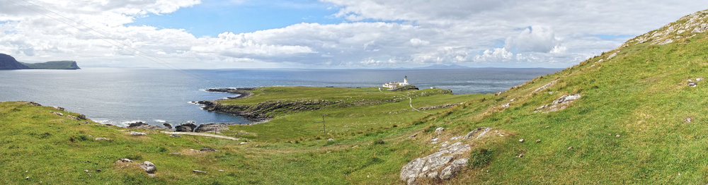 Neist Point LIghthouse Panorama