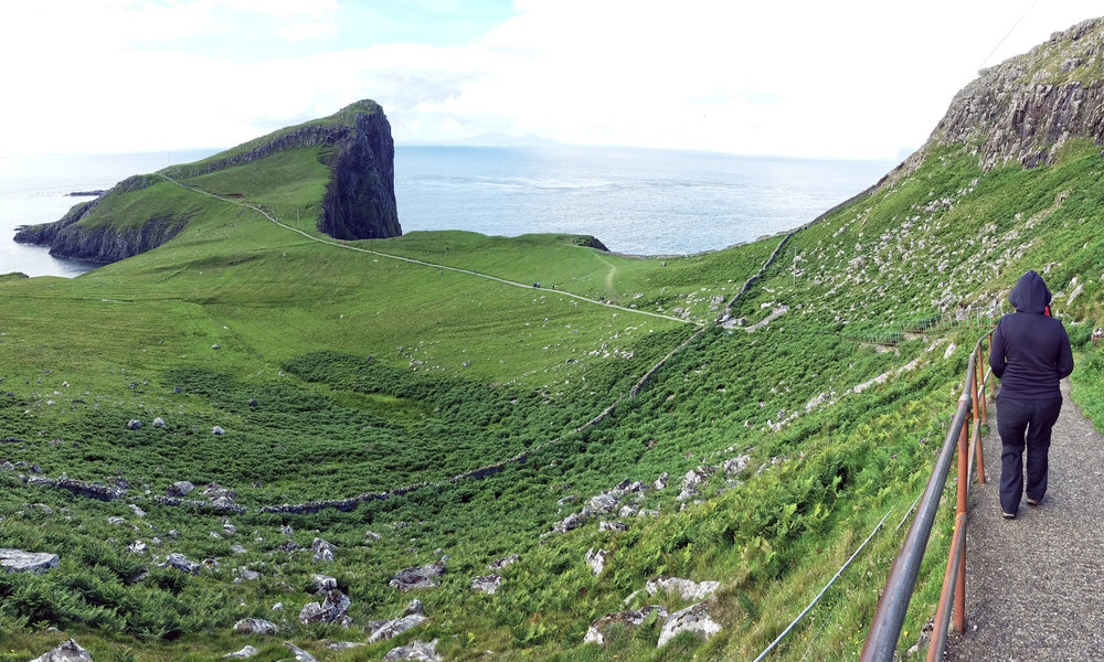 Neist Point Path Down
