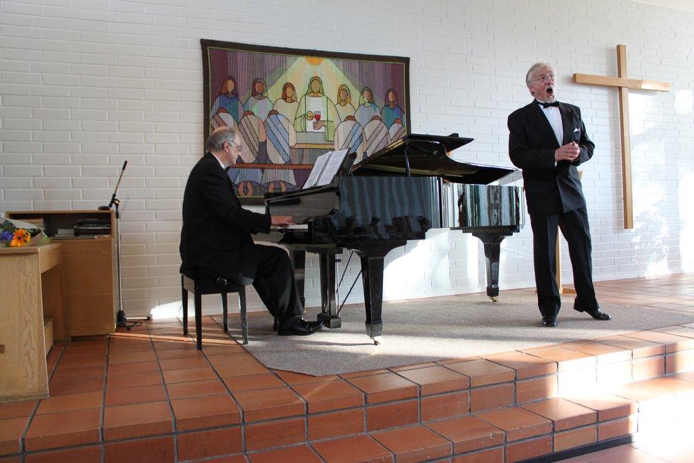 Rehearsal with Esa Ruuttunen