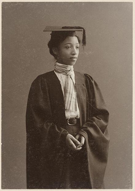 Portrait of Alberta Virginia Scott, ca. 1898. via wikipedia