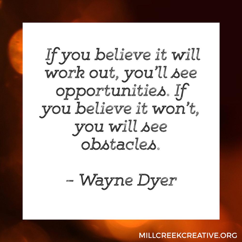 Wayne Dyer Quote