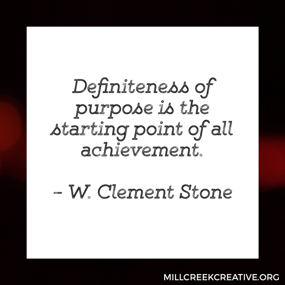 W. Clement Stone Quote