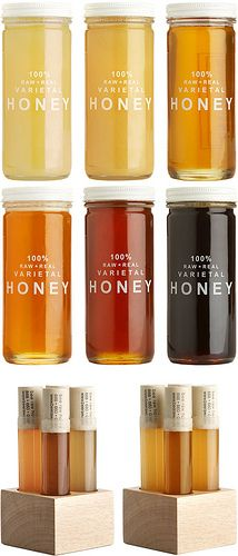 Minimalist Honey Packaging